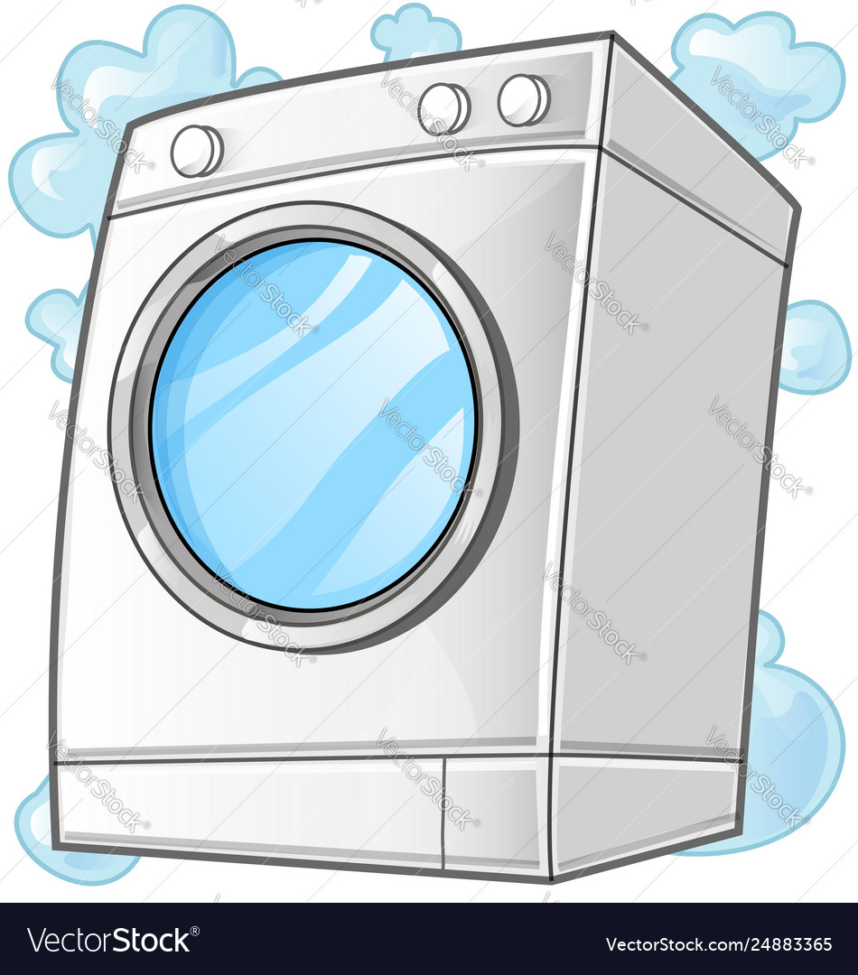 Washing machine clip art