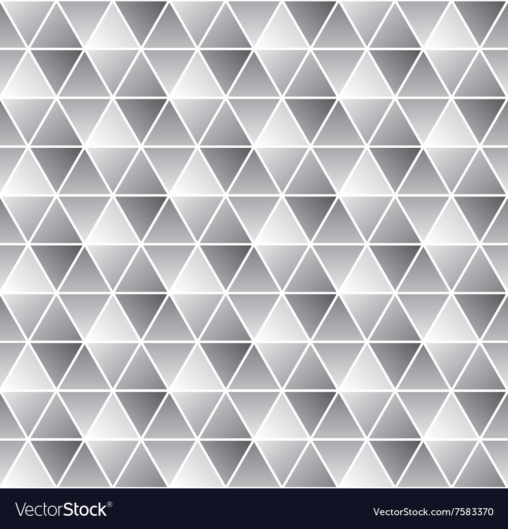Geometrical seamless pattern in black and white