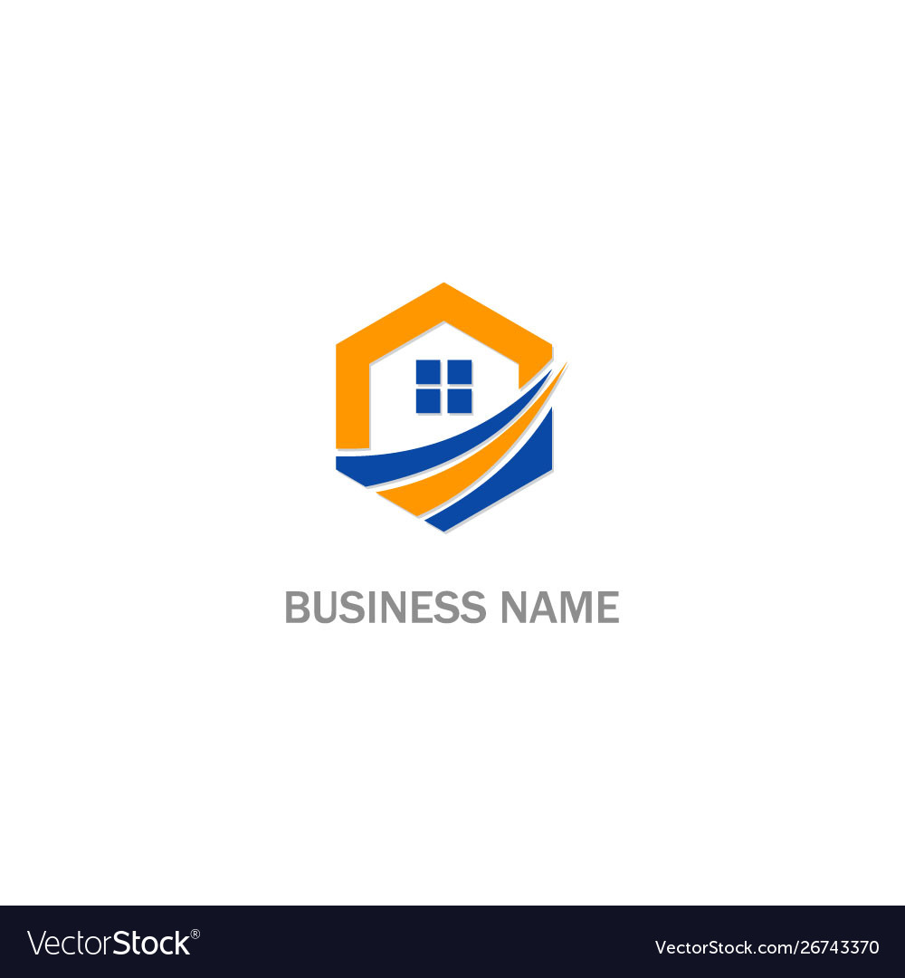 Home realty sign business logo