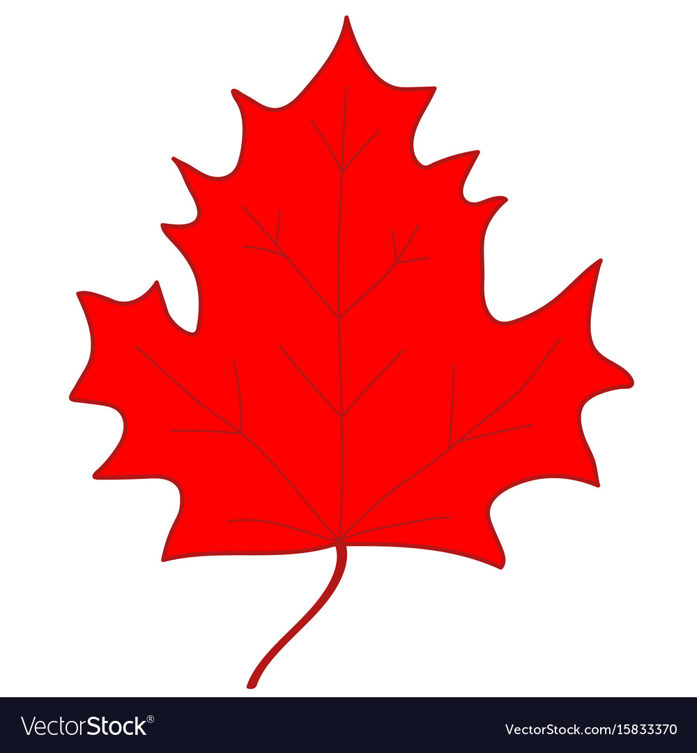 Maple leaf red sign 207