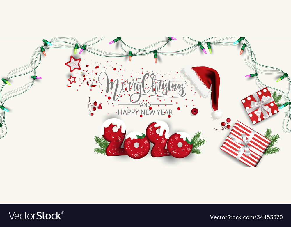 Modern holidays background with christmas tree