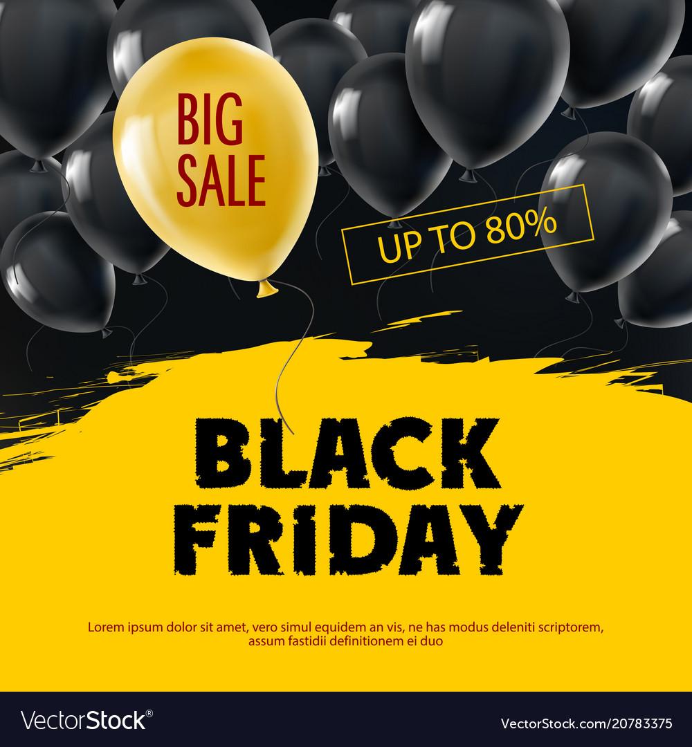 Black friday big sale background