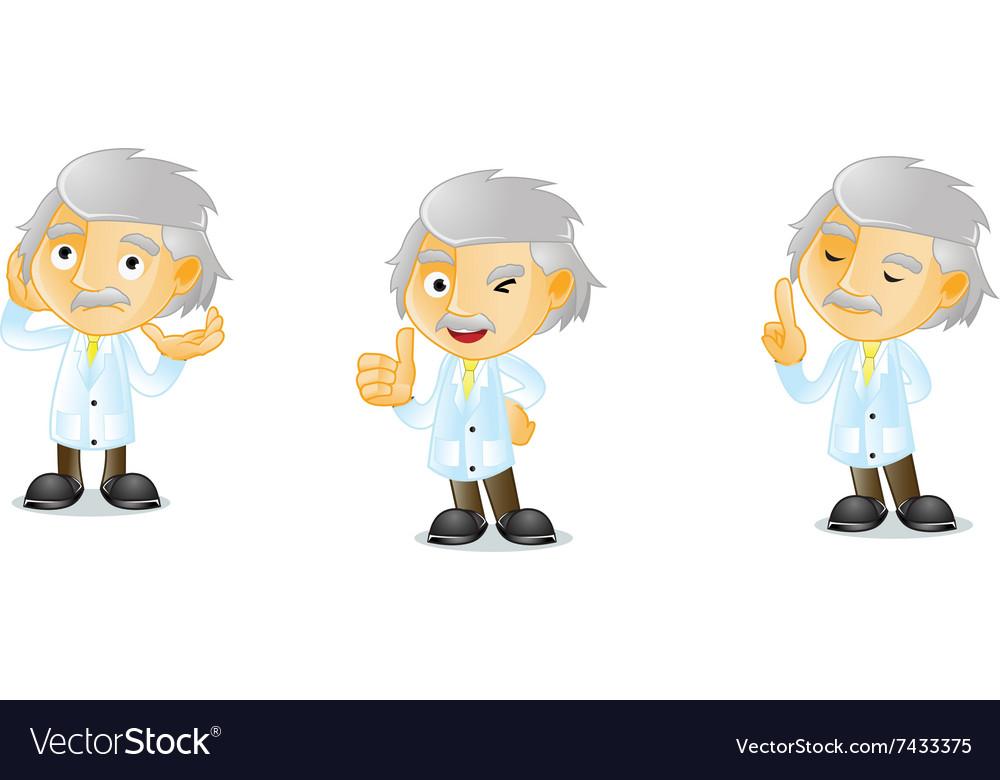 Mr Genius 2 vector image