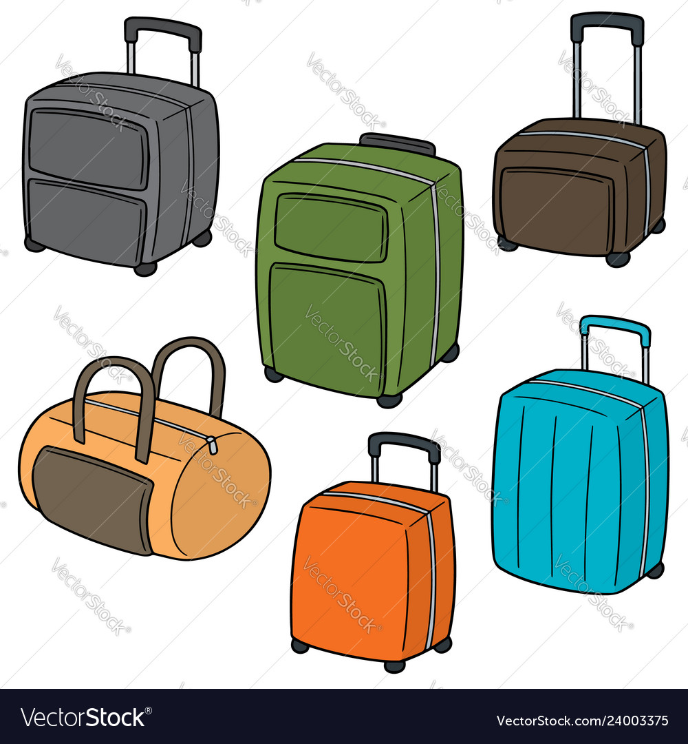 Set of suitcase