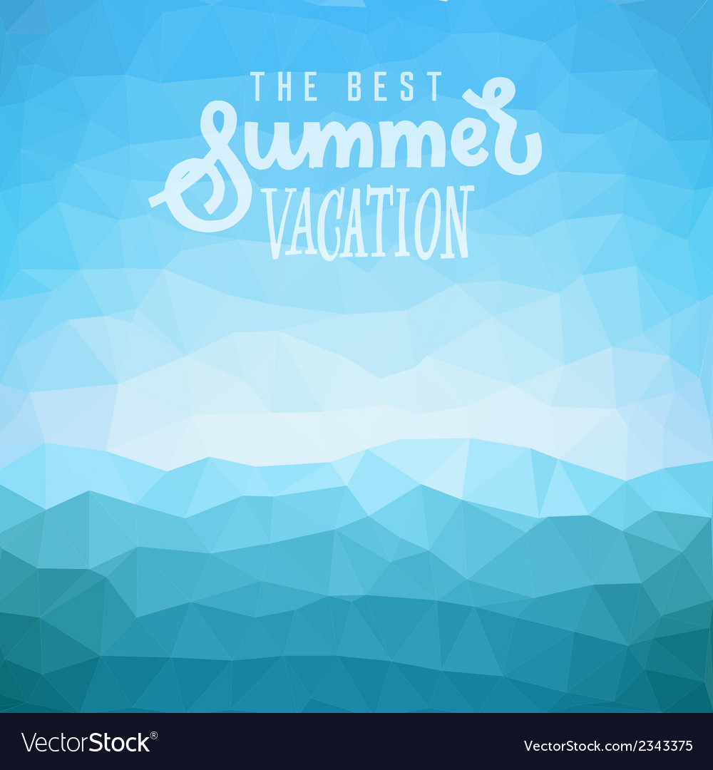 Summer tropical beach background