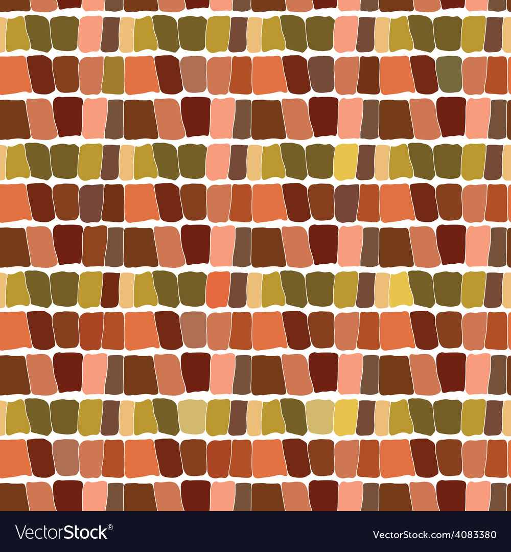 Abstract seamless pattern brown background vector image