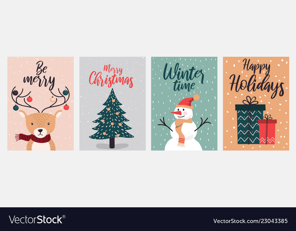 Christmas cards design 2