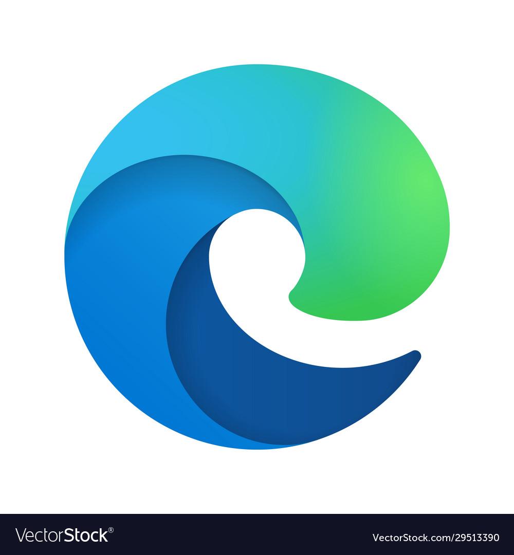 Browser edge emblem
