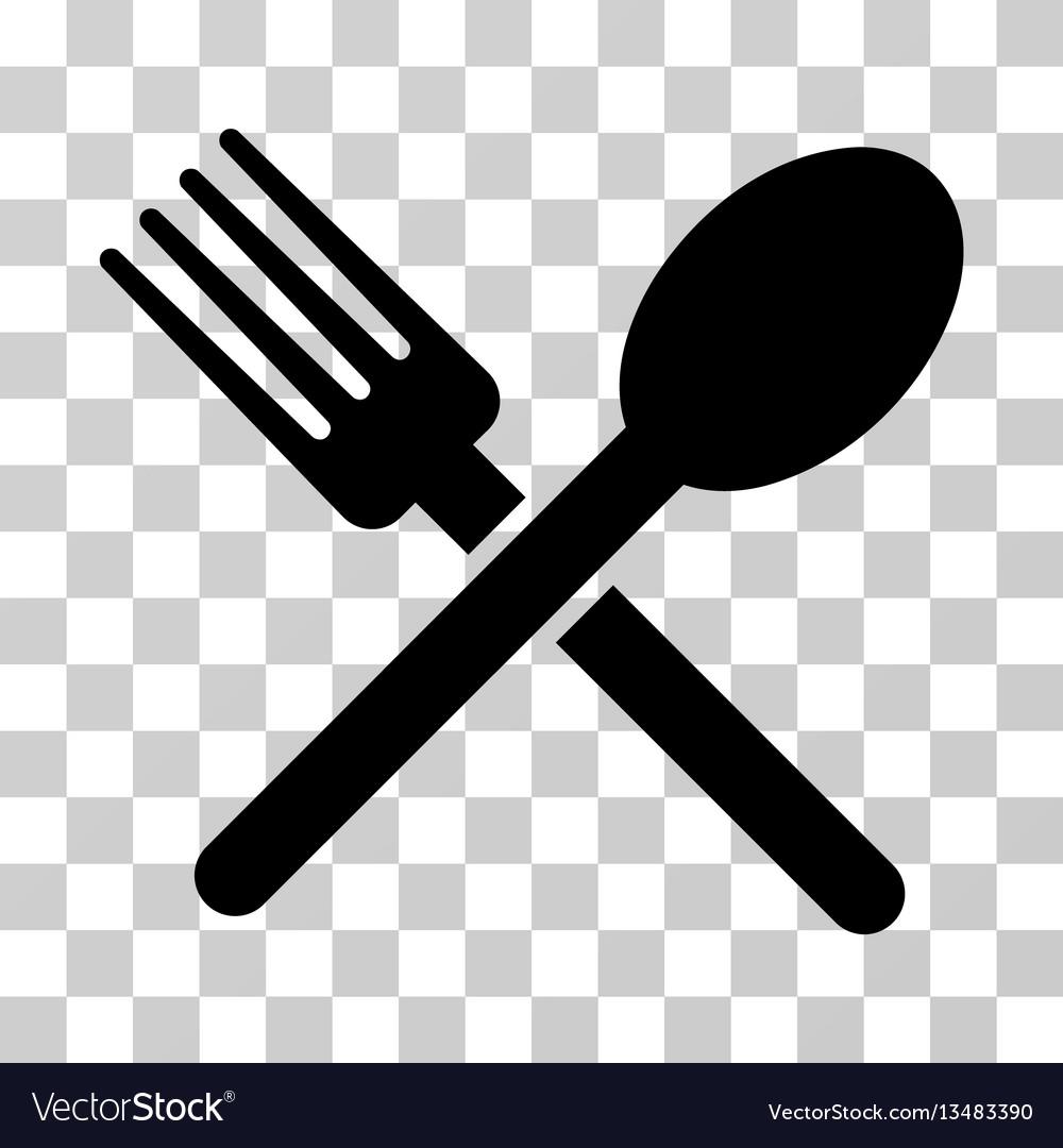 fork and spoon icon royalty free vector image vectorstock vectorstock