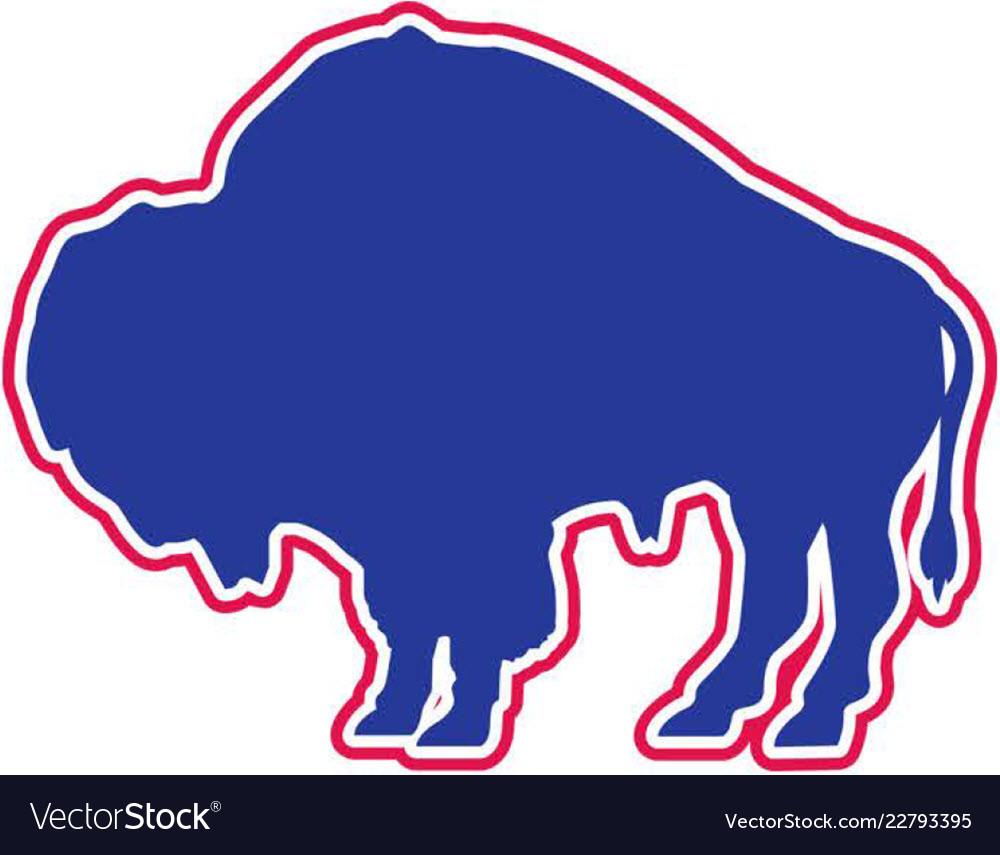 Bison sports logo mascot
