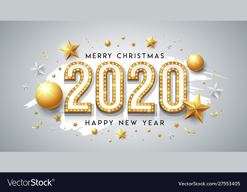 2020 happy new year and merry christmas message
