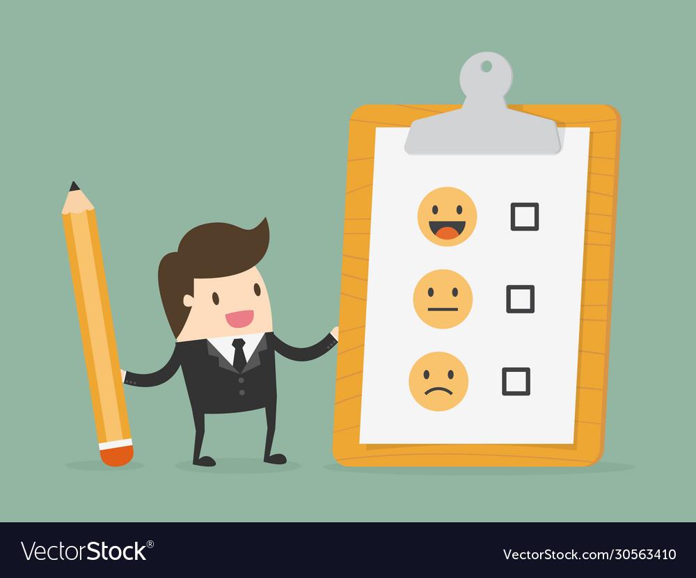 Customer evaluation