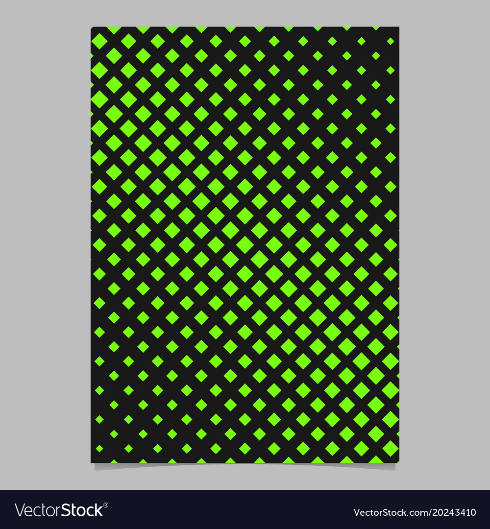 Geometric halftone square pattern background vector image