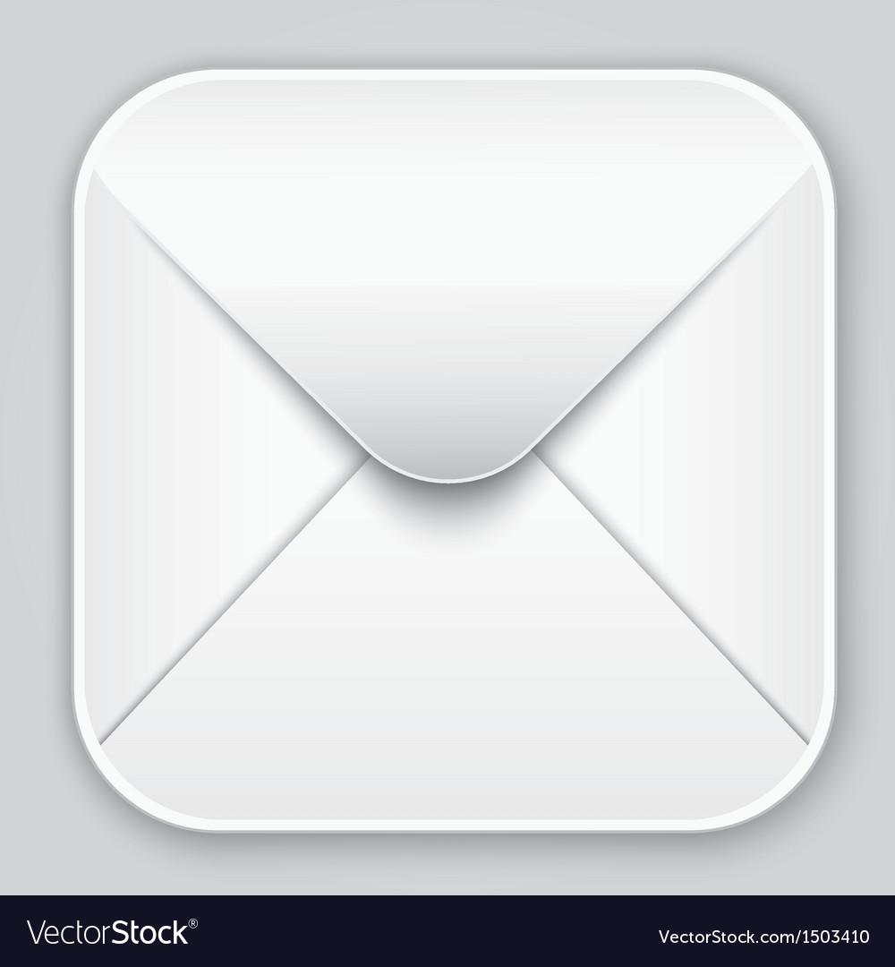 Message app icon Vector Image