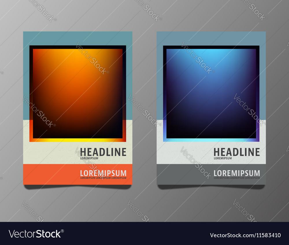 Set brochures template