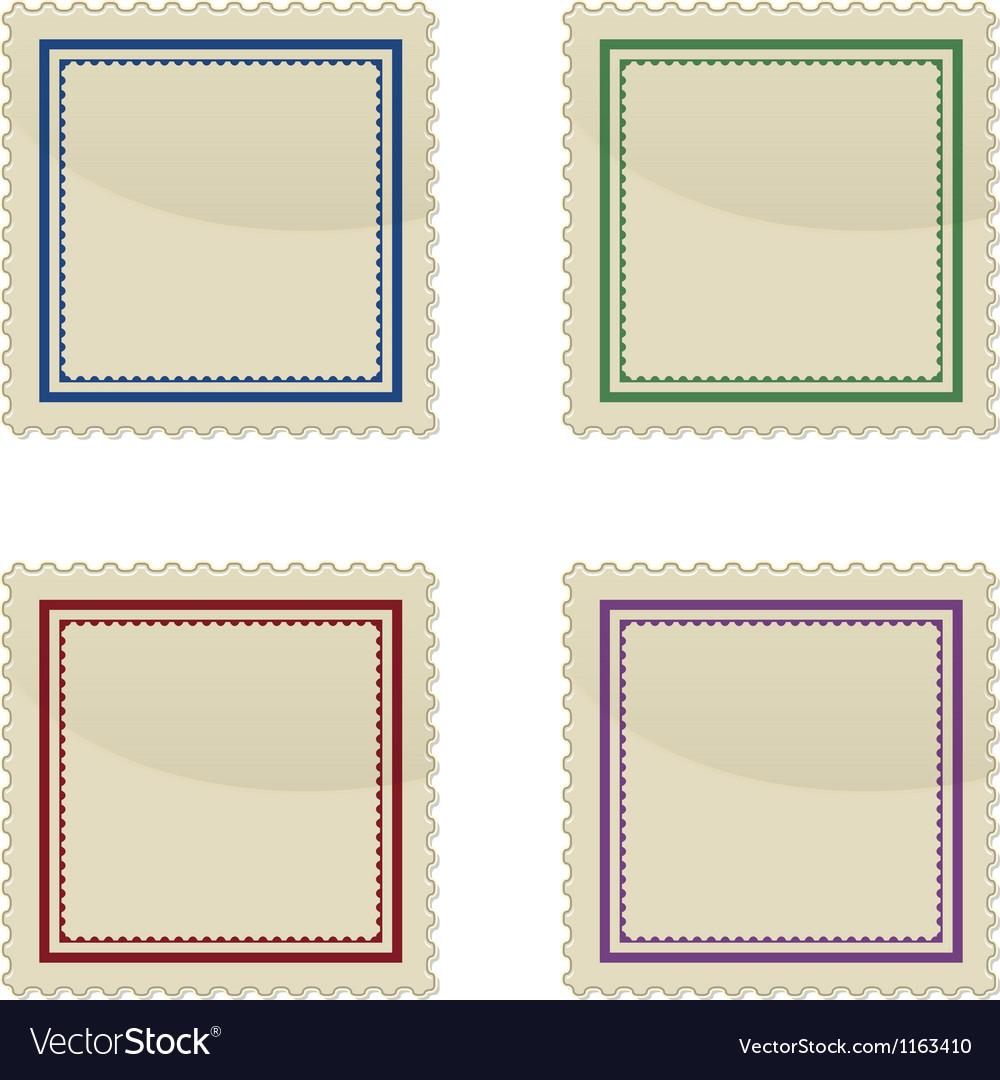 Set of stamp