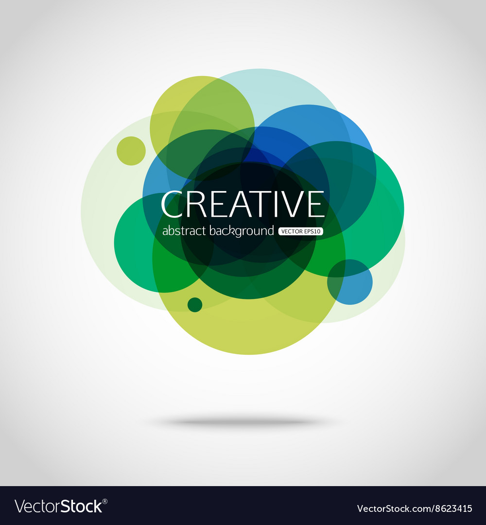 Abstract colorful background Circle design