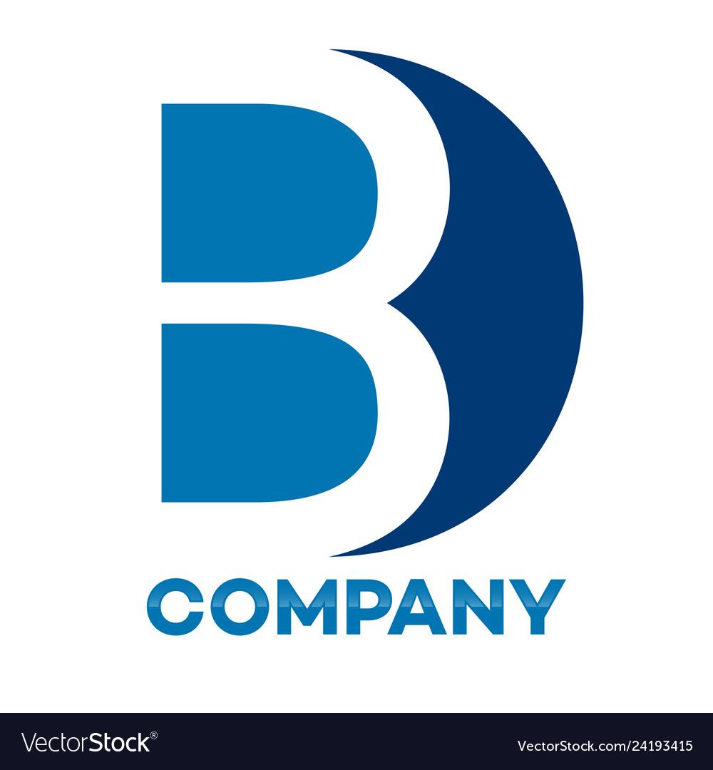 Bd letter logo