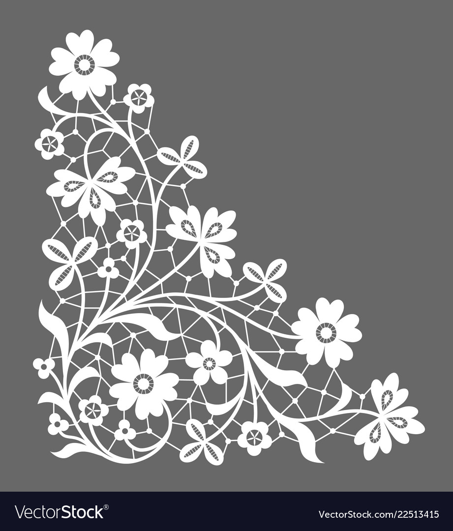 Corner lace