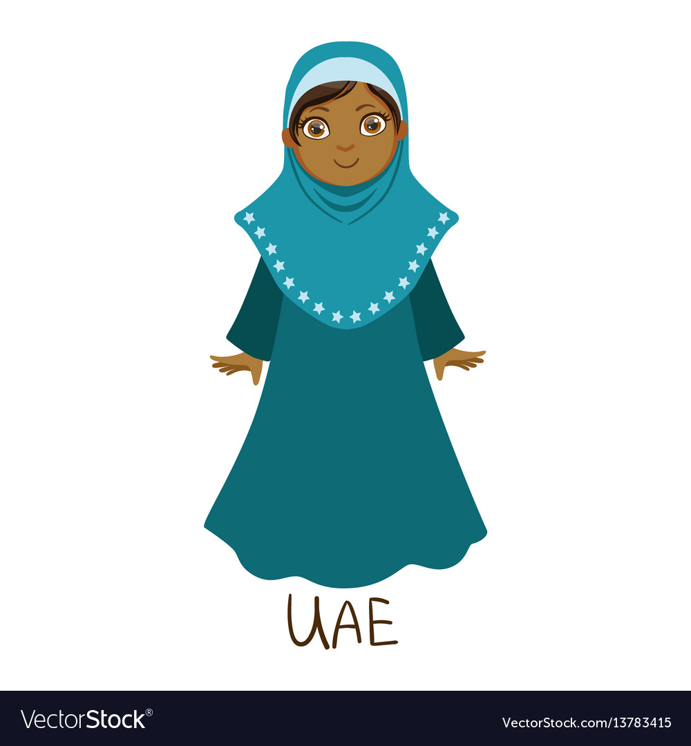Girl in united arab emirates country national