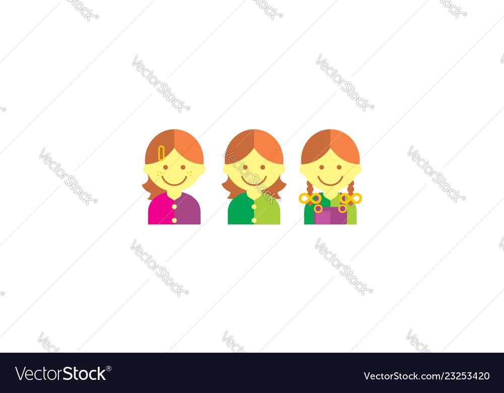 Girls logo icon