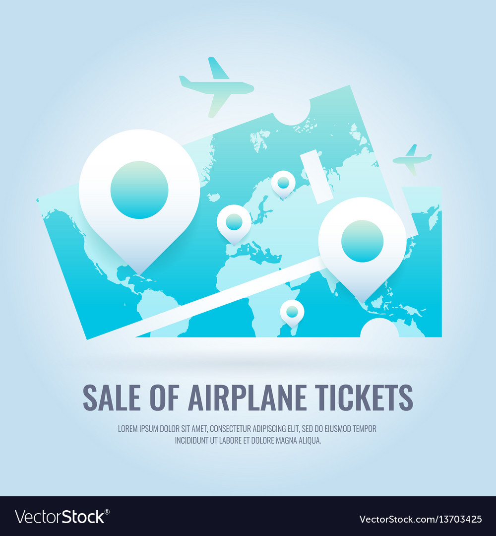 Conceptual poster sales and discounts airplane