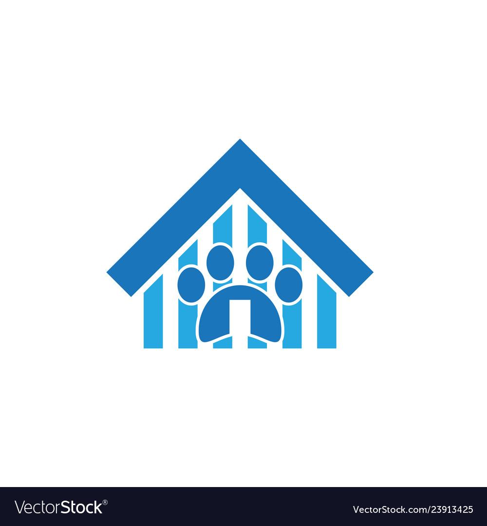 Pet house business logo