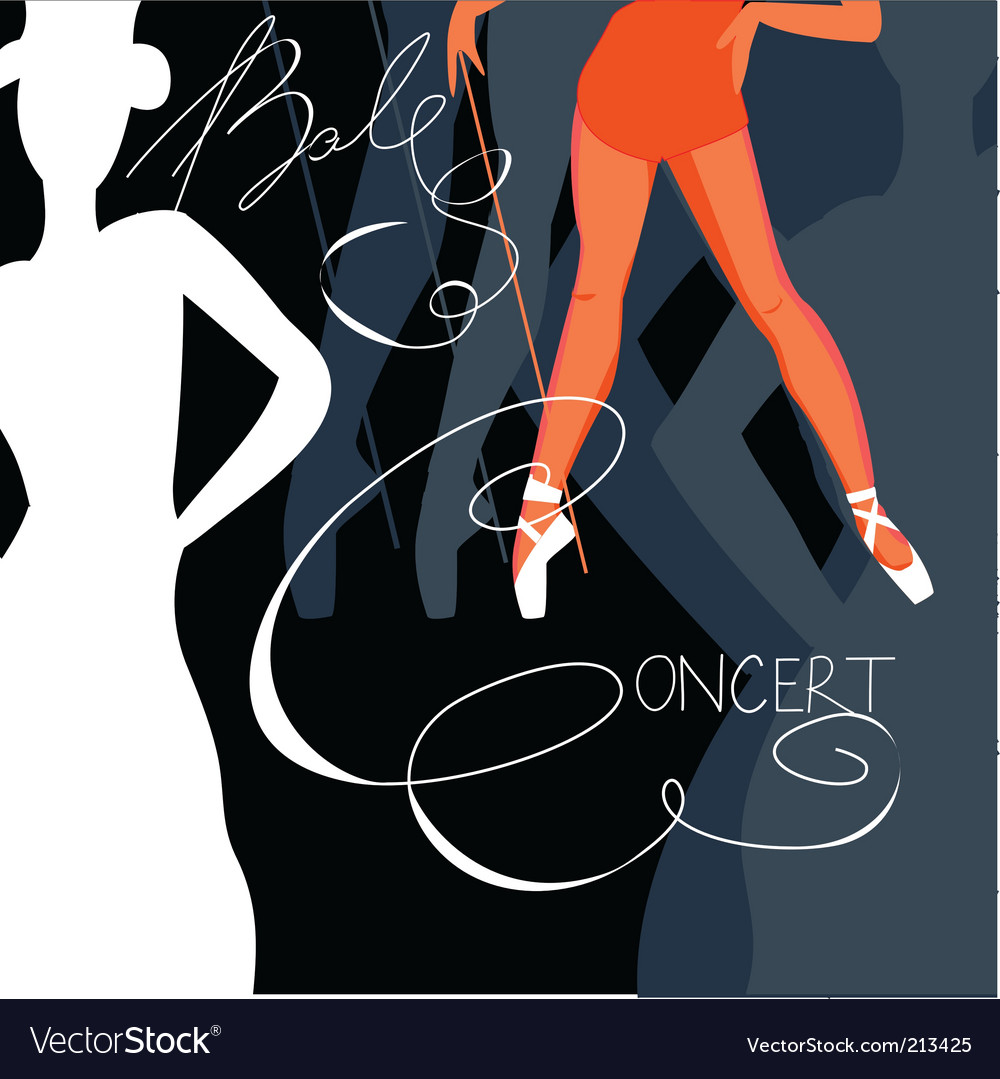 Template for poster vector image