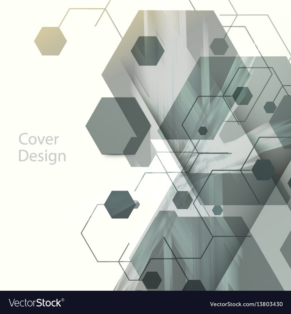 Abstract hexagon background for business web