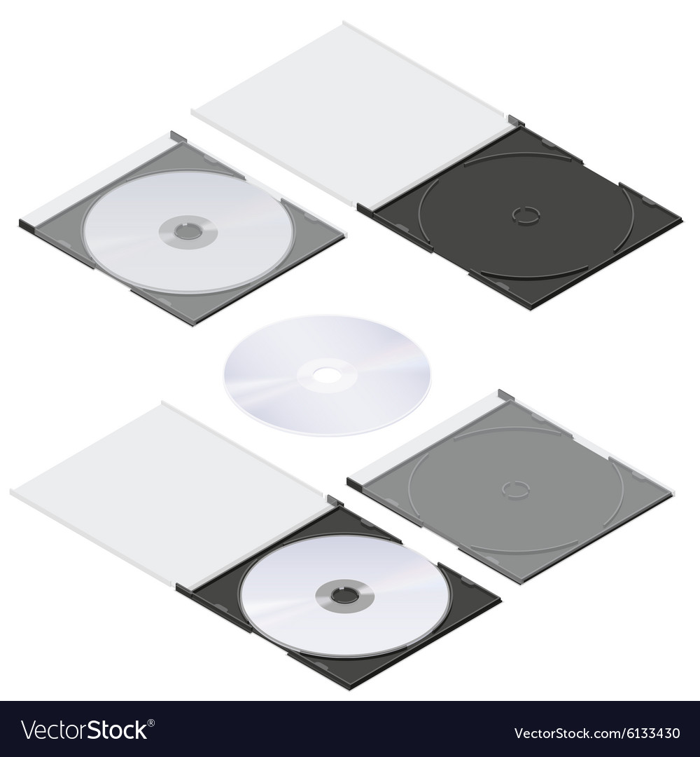 Compact disc isometric detailed set