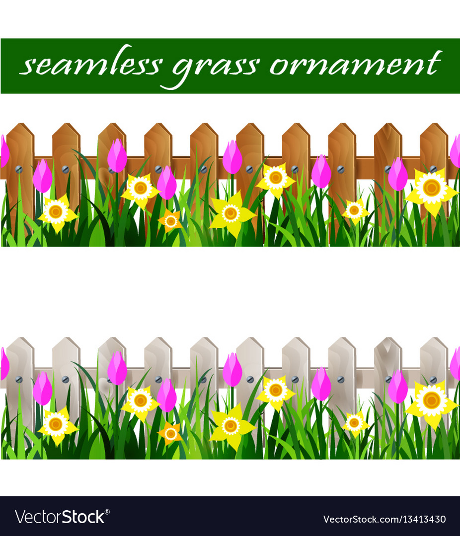 Green grass seamless