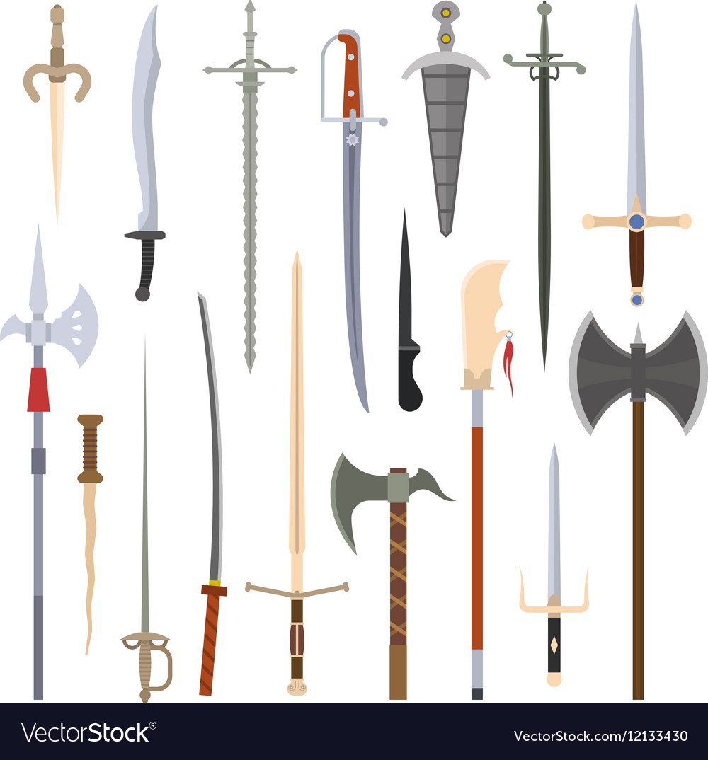 Knifes iron weapon collection
