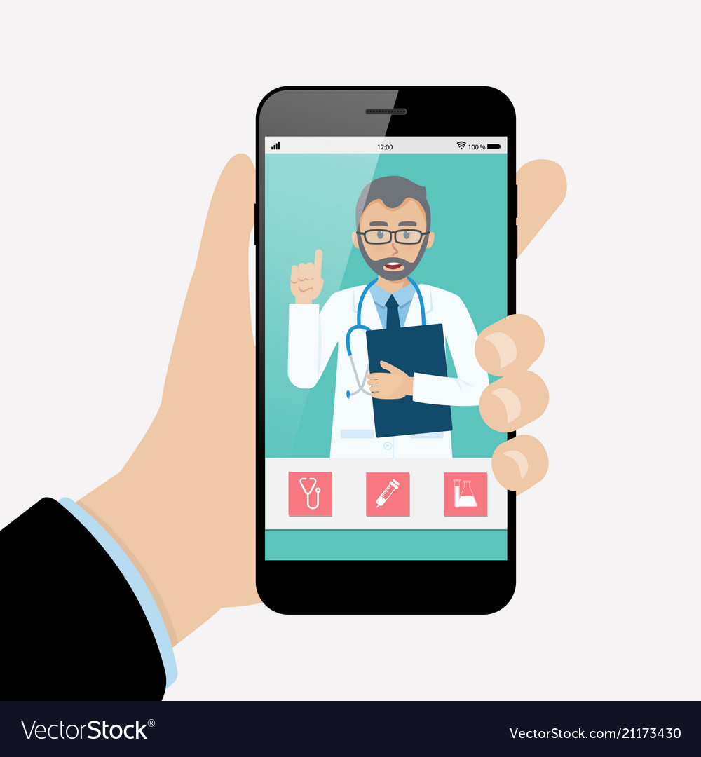 Online doctor consultation technology in