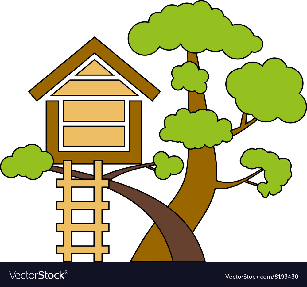 Tree-House-380x400 vector image