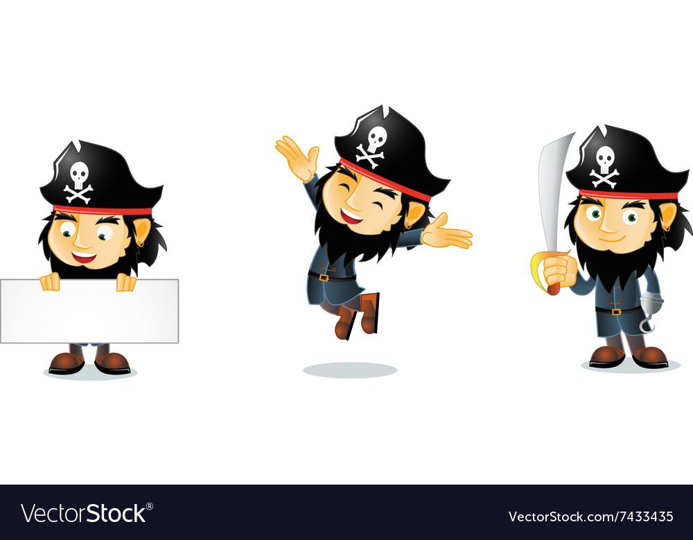 Pirates 1 vector image