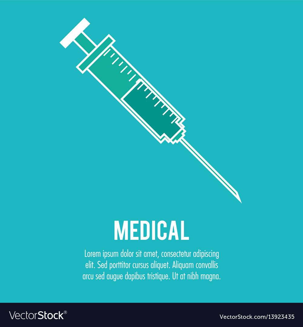 Syringe medical health care