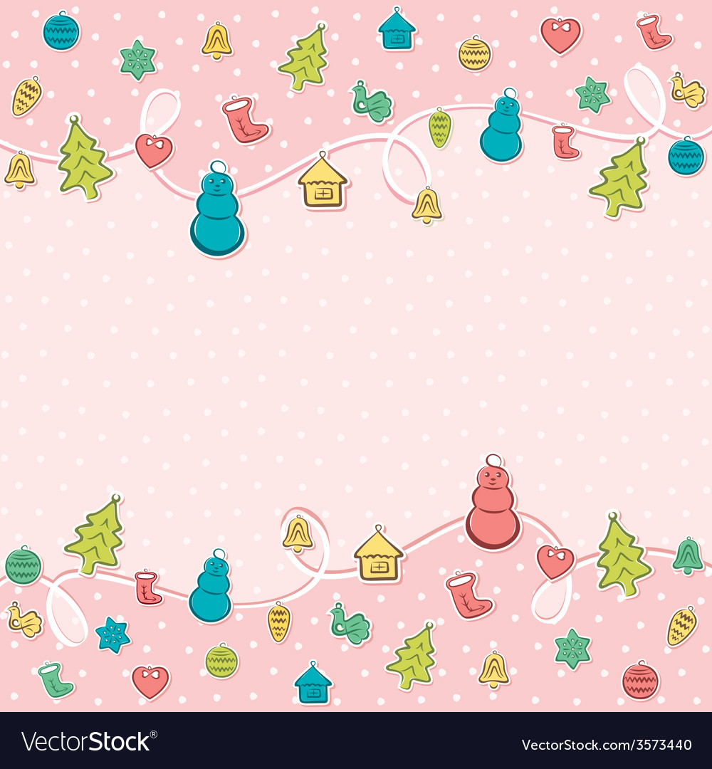 Merry christmas object icon background design