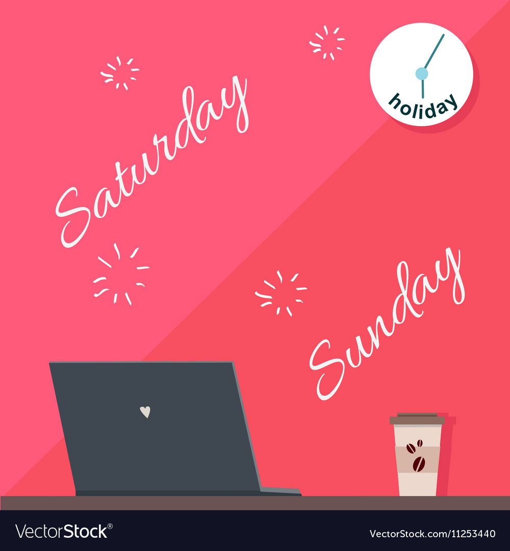 Saturday and Sunday Holiday Official Day Off