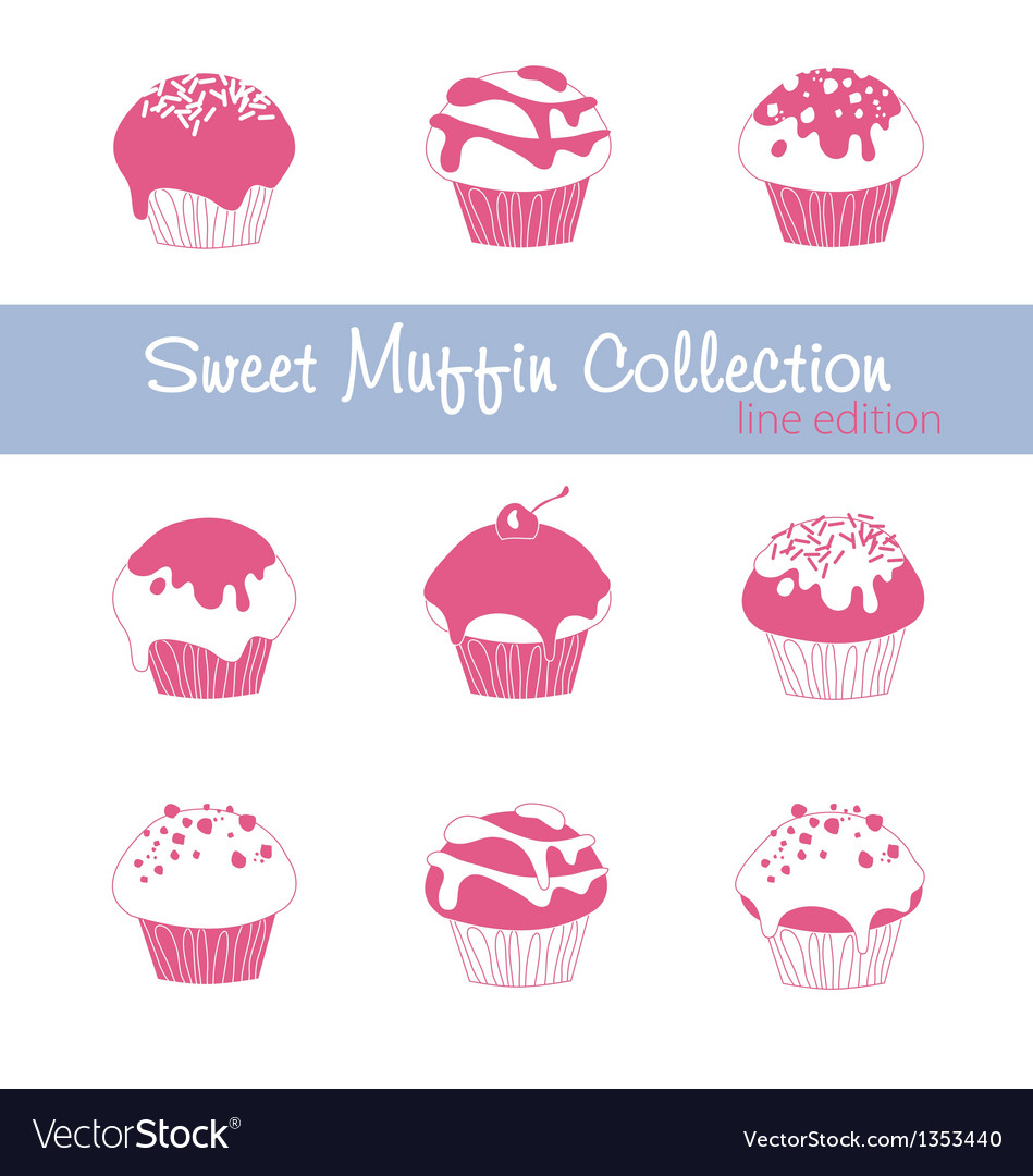 Sweet Muffin Collection Lined