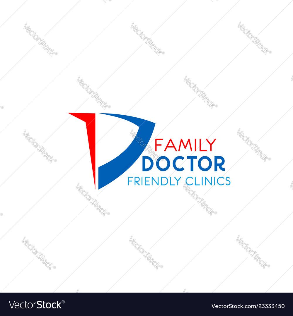 Family doctor emblem