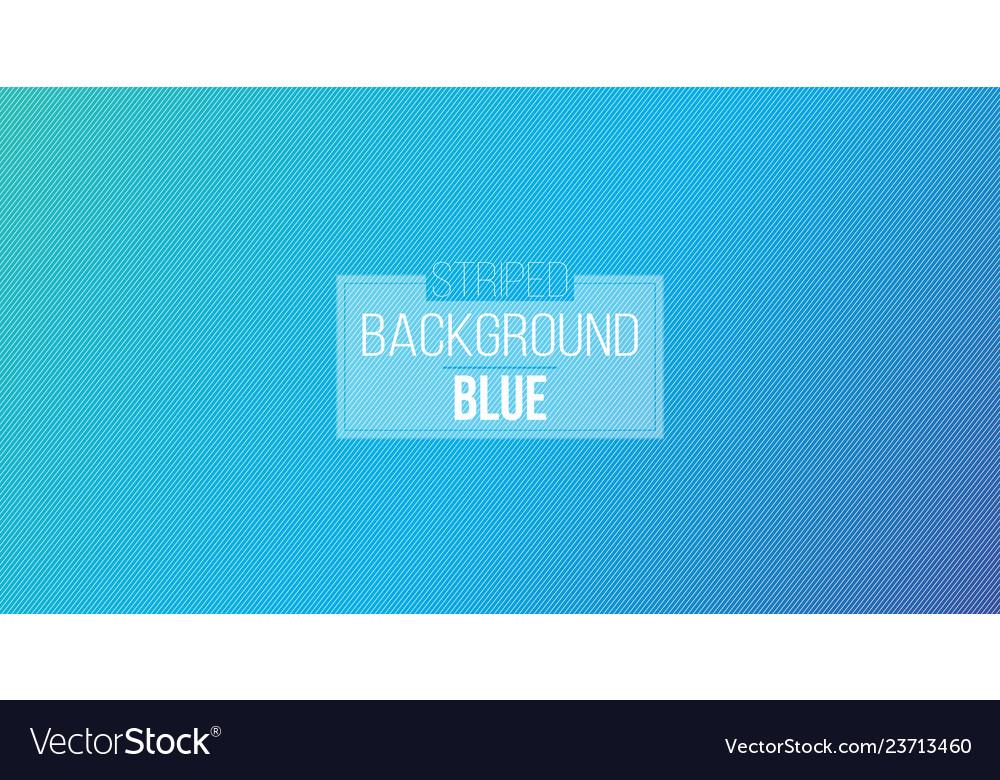 Blue diagonal lines striped wallpaper seamless