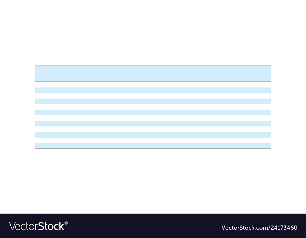 Multipurpose table layout template empty clean