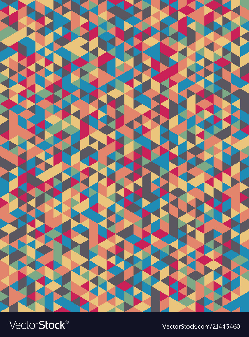 Seamless triangular pattern