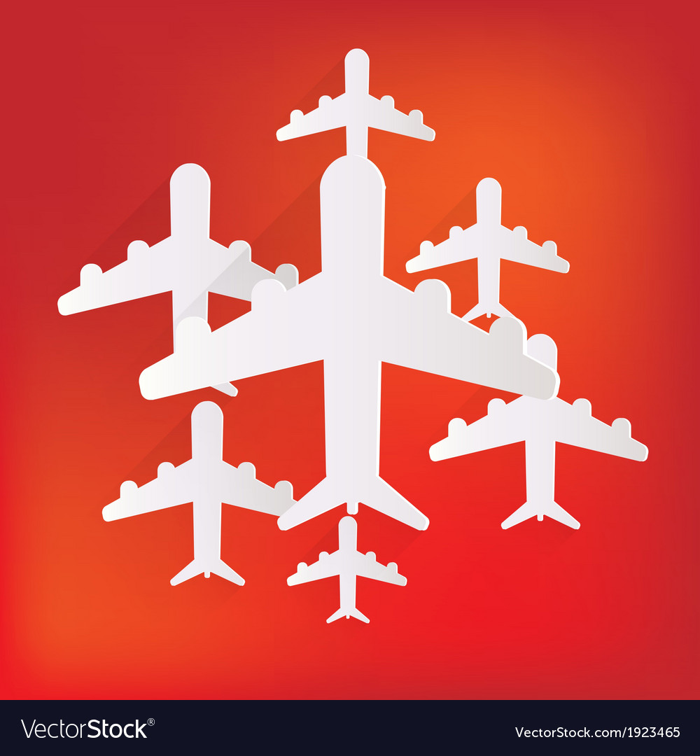 Plane airplane icon