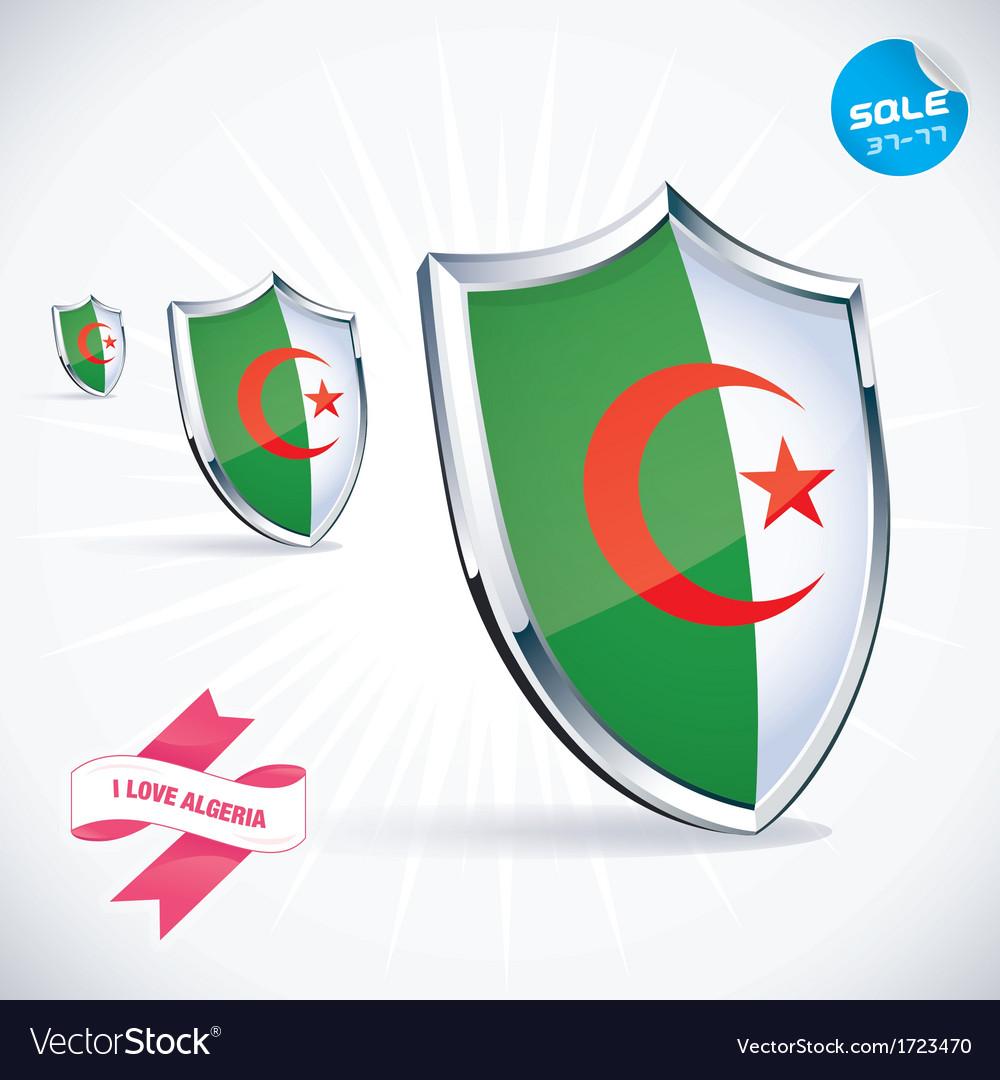 I Love Algeria Flag