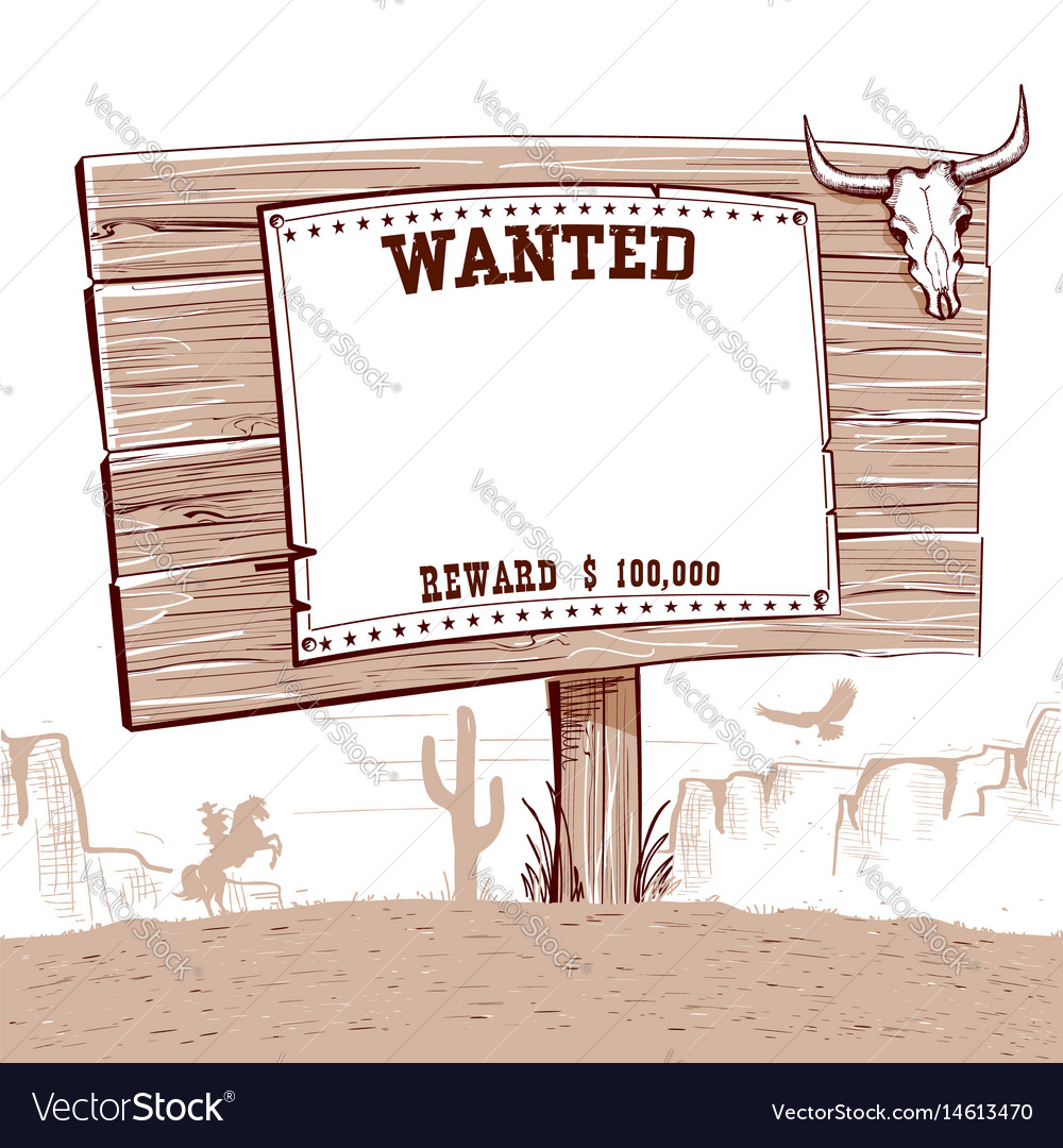 Wanted paper on wood board for textwestern