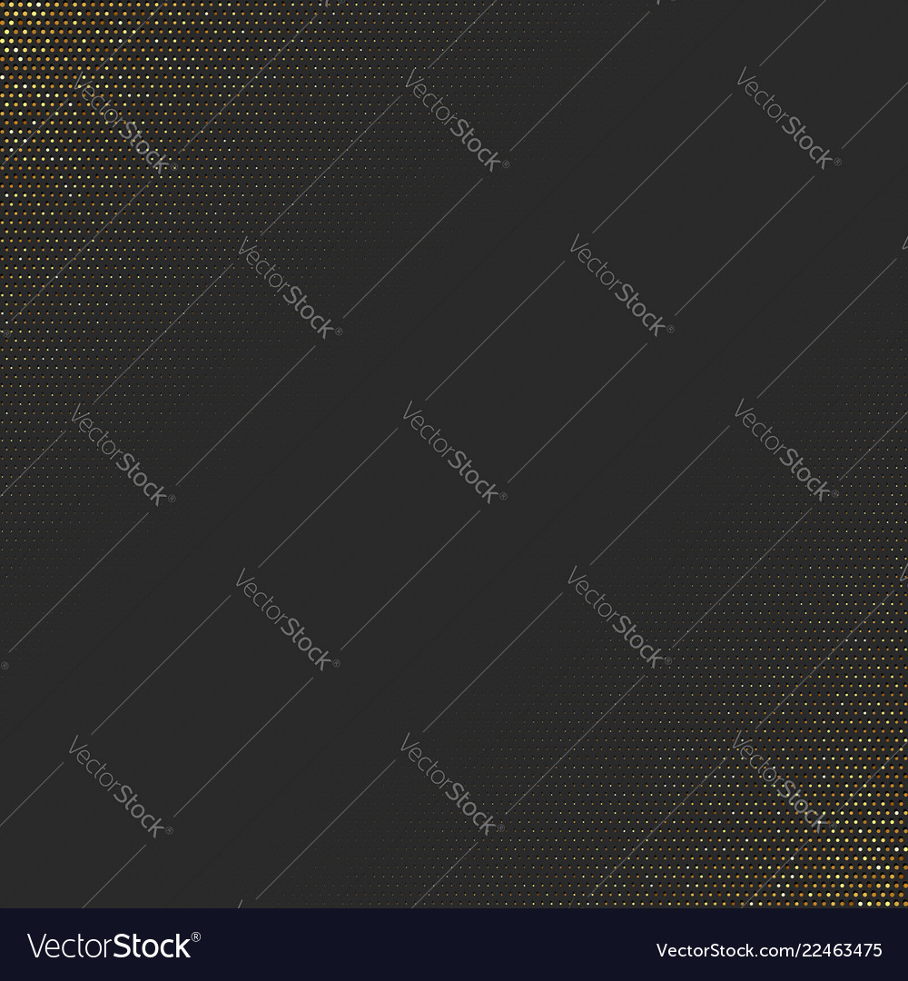 Abstract golden background with halftone effect