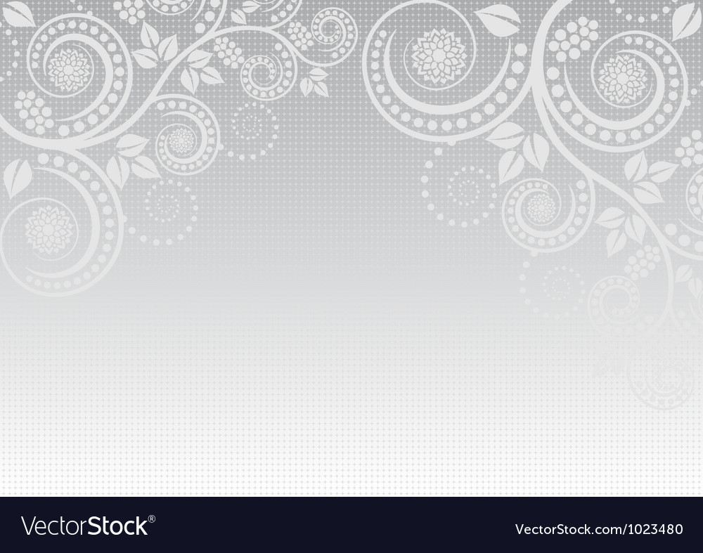 Light gray background vector image