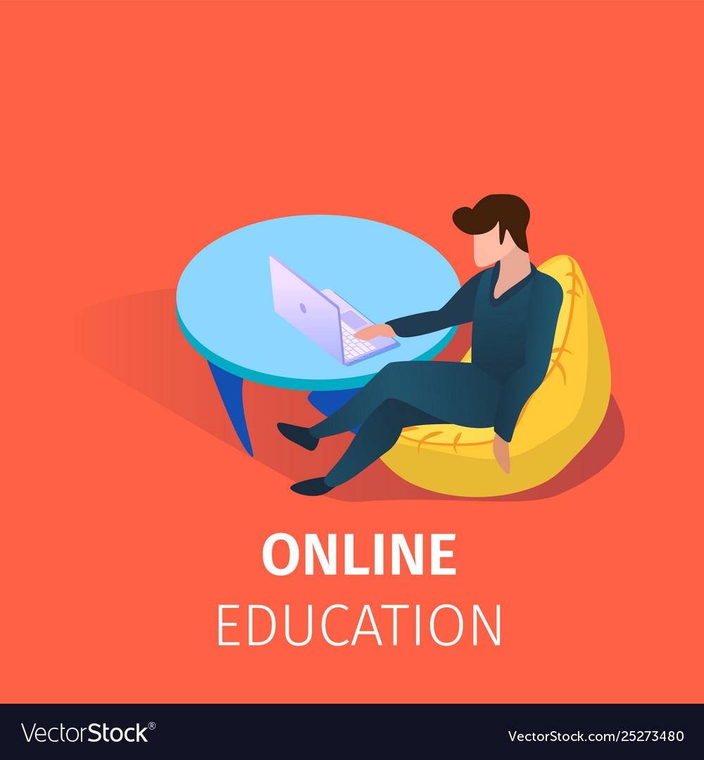 Student online education using internet technology