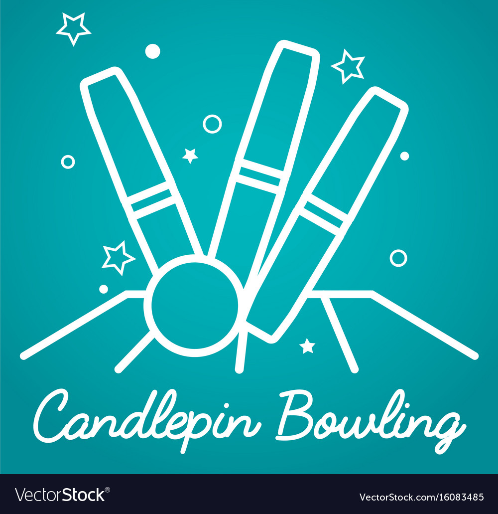 Candlepin bowling simple